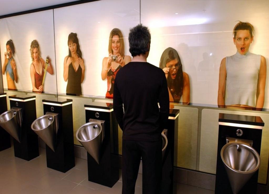 Baños con impresión digital