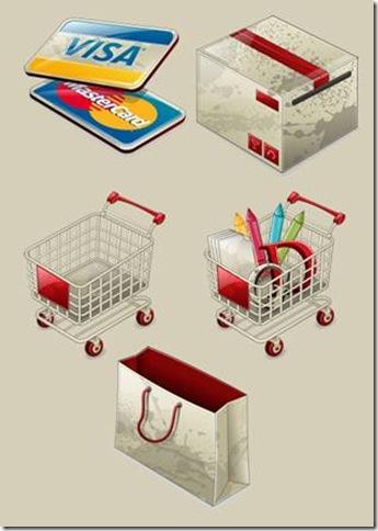 Iconos e-comerce