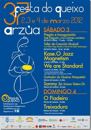 Cartel Festa do Queixo 2012