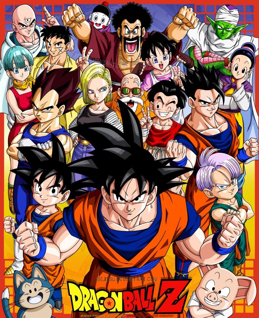 Varios personajes Dragon Ball