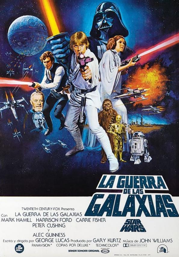 Poster de Cine Starwars