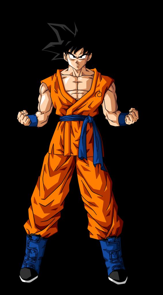Son Goku para imprimir