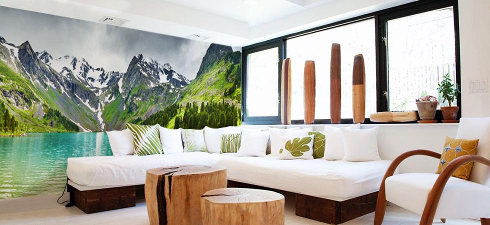 Ampliando espacios con impresi n digital blog for Mural nature