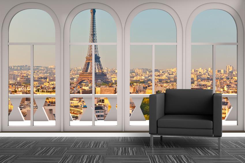 Trampantojo ventana a París